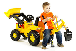 Cat Front Loader Backoe Toys Pedal Vehicle 2 Mega Bloks Large Dump Truck 4 Kettler Digger